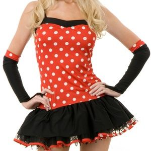 Charades Miss Mouse Tutut Costume dress